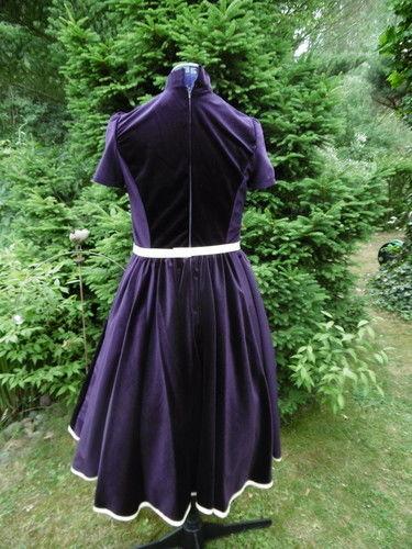 Makerist - Petticotkleid, aus Samt, für mich (als Probekleid) - Nähprojekte - 3