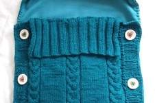 Makerist - Baby-Schlafsack, mein erstes großes Strickprojekt - 1
