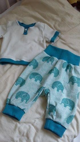 Makerist - BabySet kleine Elefanten - Nähprojekte - 1