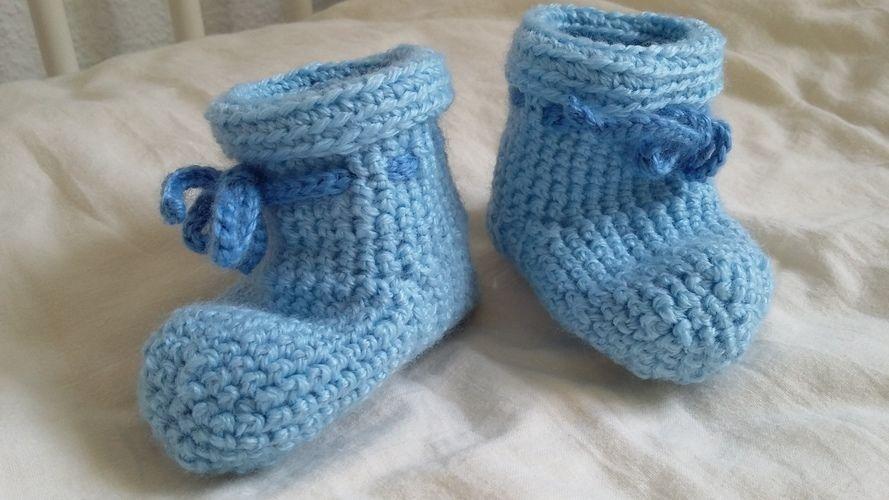 Makerist - Für warme Babyfüße - Häkelprojekte - 1