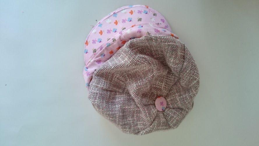 Makerist - Ballonmütze Käpt´n Kukka rosagemustert - Nähprojekte - 1