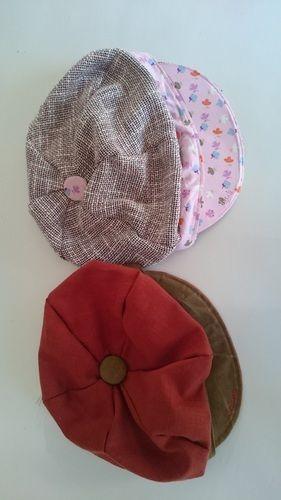Makerist - Ballonmütze Käpt´n Kukka rosagemustert - Nähprojekte - 3
