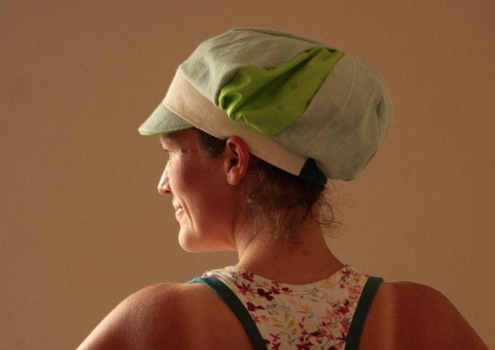 Makerist - Ballonmütze Käpt´n Kukka grün - Nähprojekte - 1