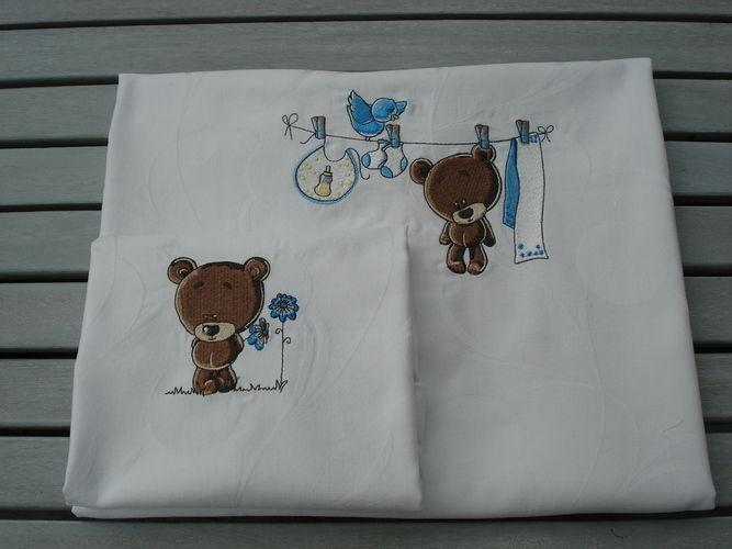 Makerist - Baby-Bettwäsche 'Teddybär' - Textilgestaltung - 2