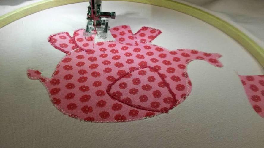 Makerist - wie ein kleiner rosa  Elephant auf ein T-Shirt kommt...  - Nähprojekte - 3