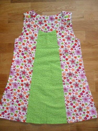 Makerist - leichtes Sommerkleid im Farbmix - Nähprojekte - 1