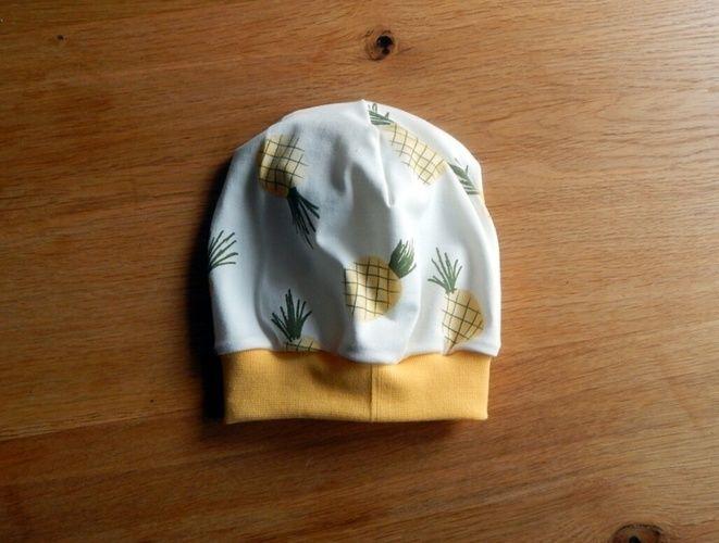 Makerist - fruchtige Ananas Beanie  - Nähprojekte - 1