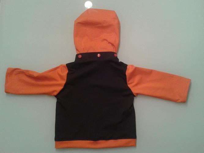 Makerist - Jerseyjacke Größe 80 Kapuze abnehmbar - Nähprojekte - 2