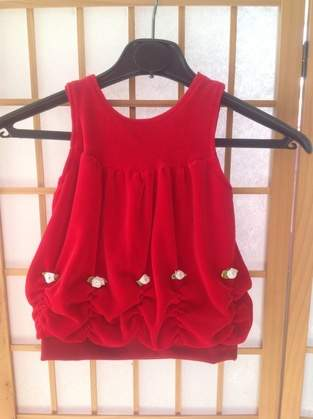 Makerist - Babykleid aus Nicky mit Röschen verziert - 1