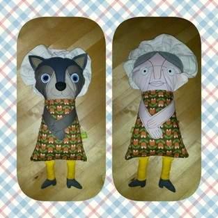 Makerist - Großmutter und Wolf - Eine tolle Idee! 2. Foto auch ansehen! - 1