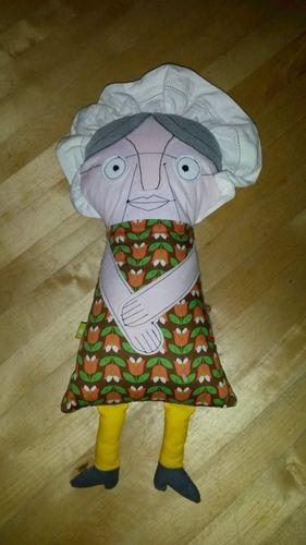 Makerist - Großmutter und Wolf - Eine tolle Idee! 2. Foto auch ansehen! - Nähprojekte - 3