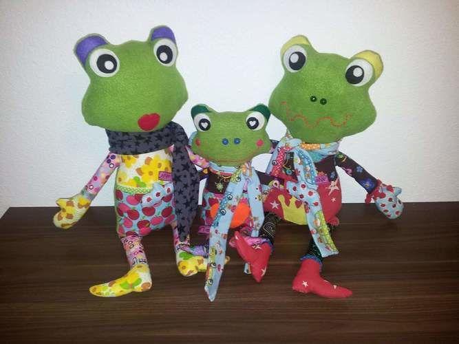 Makerist - Familie Frosch - Nähprojekte - 1