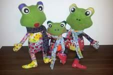 Makerist - Familie Frosch - 1
