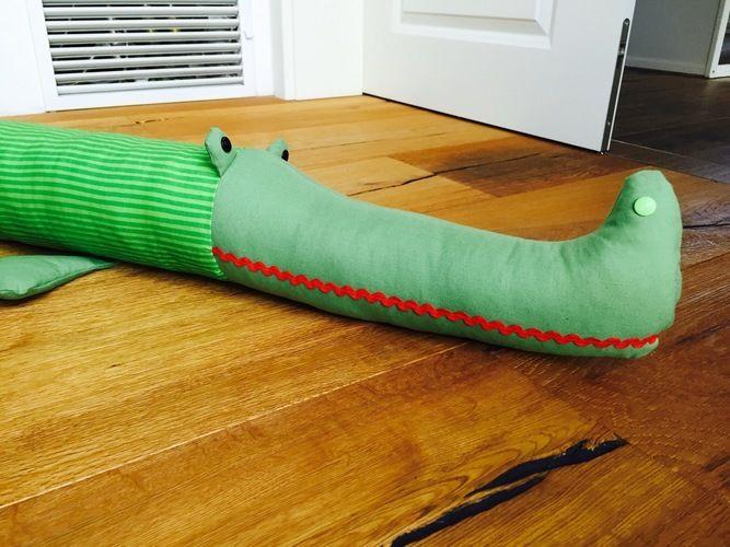 Makerist - Bettrolle Krokodil Karlchen - Nähprojekte - 2