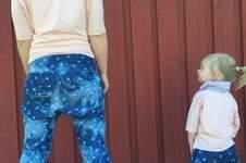 Makerist - Partnerlook - Mama Tochter - Girlfriendhose aus leichtem Jeans  - 1