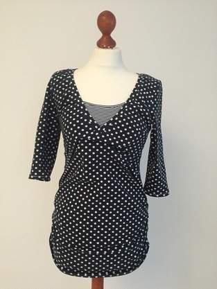 Makerist - Gepunktetes Umstands-/Stillshirt - 1
