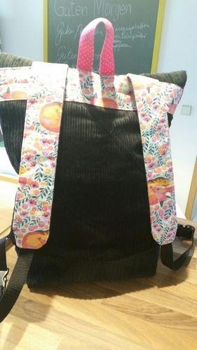 Makerist - Rucksack aus Cord - Nähprojekte - 2