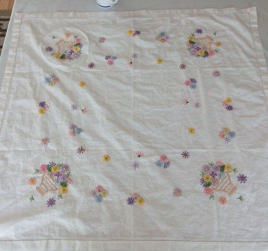Makerist - Eigene Stickdecke als Geburtstagsüberraschung - Textilgestaltung - 1