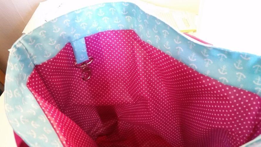 Makerist - Einkaufstasche aus beschichteter Baumwolle  - Nähprojekte - 3
