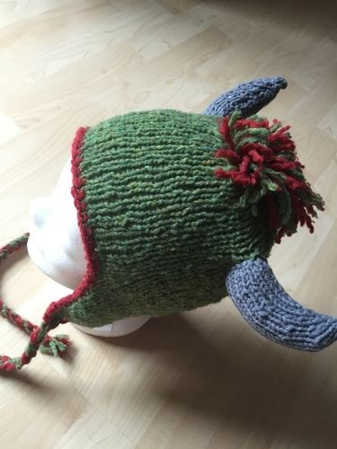 Makerist - Mütze mit Hörner - Strickprojekte - 1