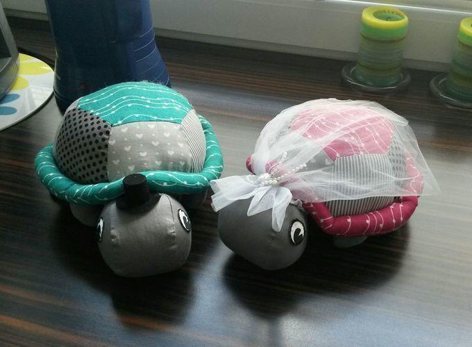 Makerist - Schildkröten Hochzeit - Nähprojekte - 1