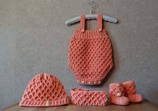 Makerist - Süßes Babyset - gehäkelt - 1