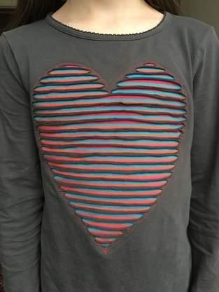 Makerist - Herz in Chenille Technik aufsticken - 1