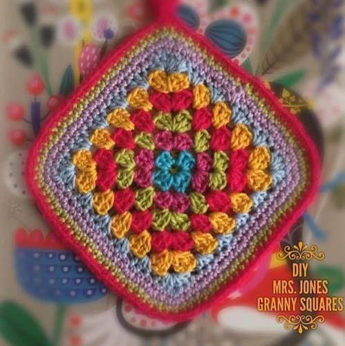Makerist - Topflappen aus Granny Squares gehäkelt - Häkelprojekte - 1
