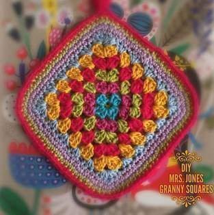 Makerist - Topflappen aus Granny Squares gehäkelt - 1