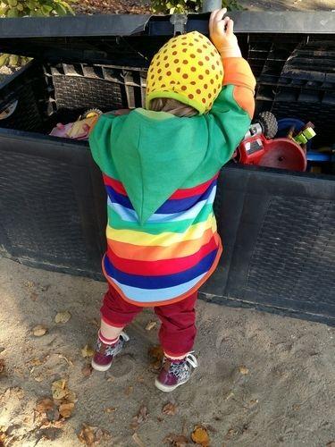 Makerist - Mein Regenbogenkind - mit allen Farben gegen trübe Tage - Nähprojekte - 3