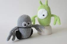 Makerist - Alien and Robot - 1
