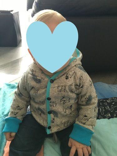 Makerist - Eulen-Hoody-Jacke, für meinen kleinen Sonnenschein - Nähprojekte - 2