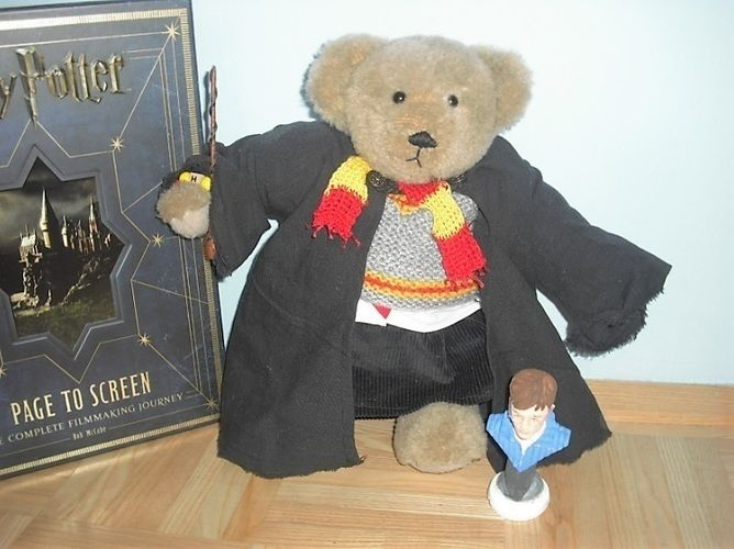 Makerist - Teddy Harry Potter - Nähprojekte - 1