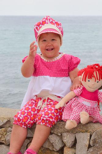 Makerist - Sommeroutfit für meine Tochter und ihre Puppe - Nähprojekte - 1