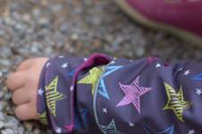 Makerist - kuschelige Kinderjacke - Sternensoftshell - 1