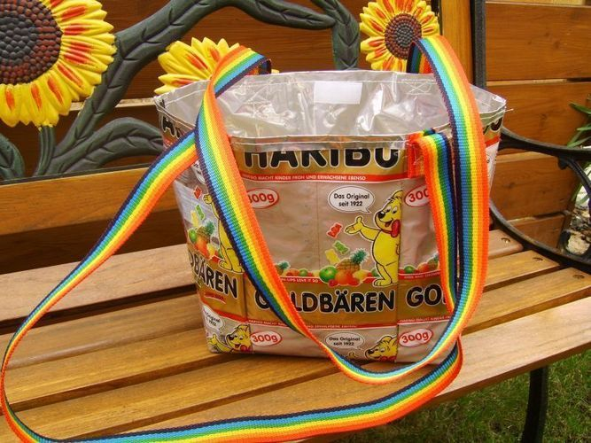 """Makerist - Recycling- Taschen """"Gummibär"""" - Nähprojekte - 1"""