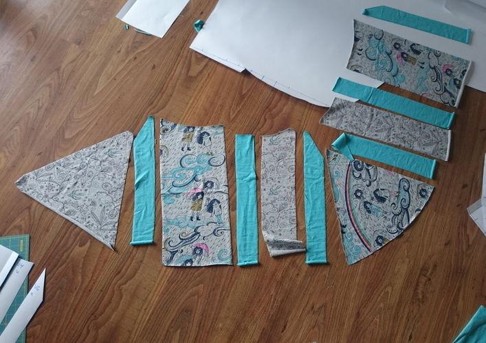 Makerist - Mintfarbener Herbst für den Sommer - Nähprojekte - 3