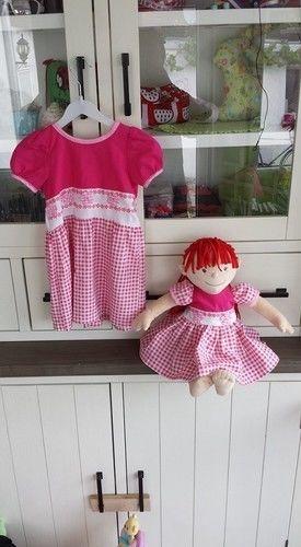 Makerist - Partnerlook für meine Tochter und Ihre Puppe - Nähprojekte - 2