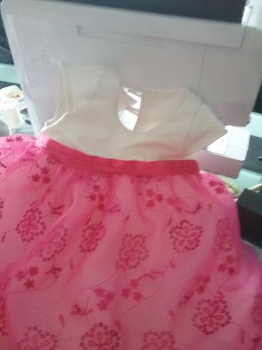 Makerist - Robe de baptême satin organza bébé 1 an - Créations de couture - 3