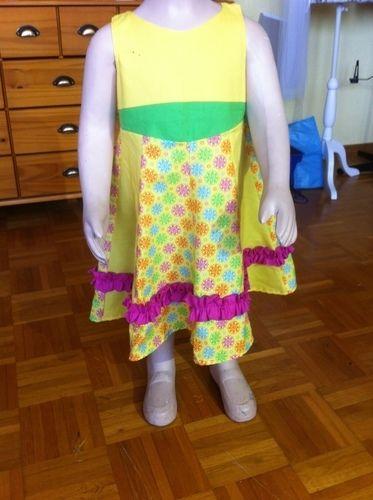 Makerist - sommerprinzessin Gr. 110  für meine Enkelin - Nähprojekte - 1