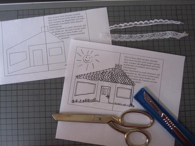 Makerist - einen Fensterputzer zur Hochzeit - DIY-Projekte - 2