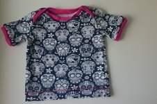 Makerist - Scull Jersey T-shirt - Mädchen Gr. 74 - 1