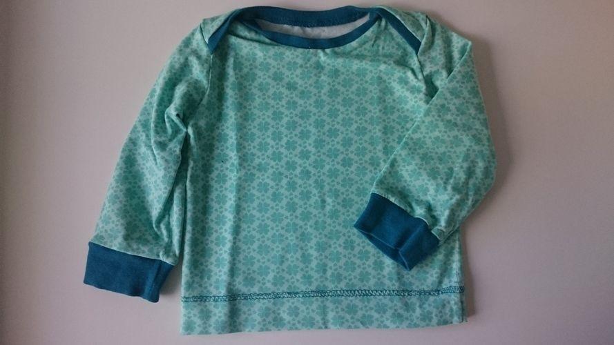 Makerist - Kleeblatt Jersey T-shirt - Mädchen Gr. 74 - Nähprojekte - 2