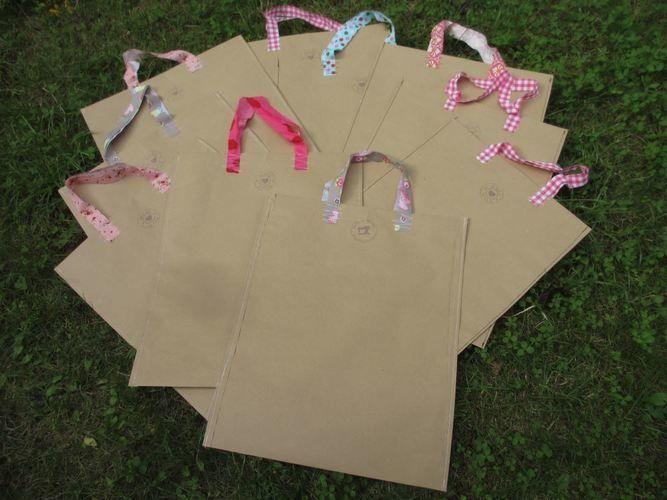 Makerist - Papiertüte als Markt-Verpackung - Nähprojekte - 3