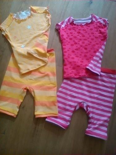 Makerist - Zweimal EasyPeasy als Oberteil für die Sommerschlafanzüge   - Nähprojekte - 1