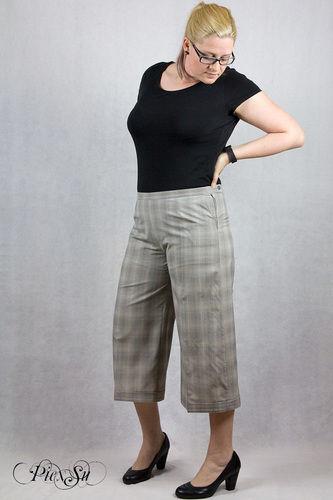 Makerist - Culotte Chloe aus feinem Hosenstoff - Nähprojekte - 1