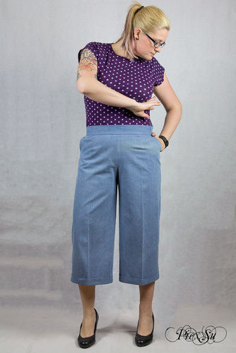 Makerist - Culotte Chloe aus Jeans - Nähprojekte - 1