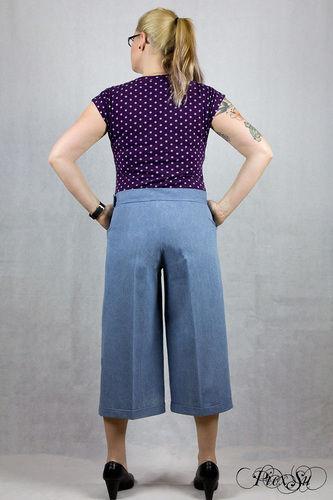 Makerist - Culotte Chloe aus Jeans - Nähprojekte - 3