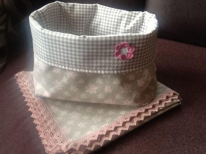 Makerist - Brötchenkorb mit passender Decke - Nähprojekte - 1