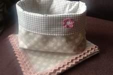 Makerist - Brötchenkorb mit passender Decke - 1
